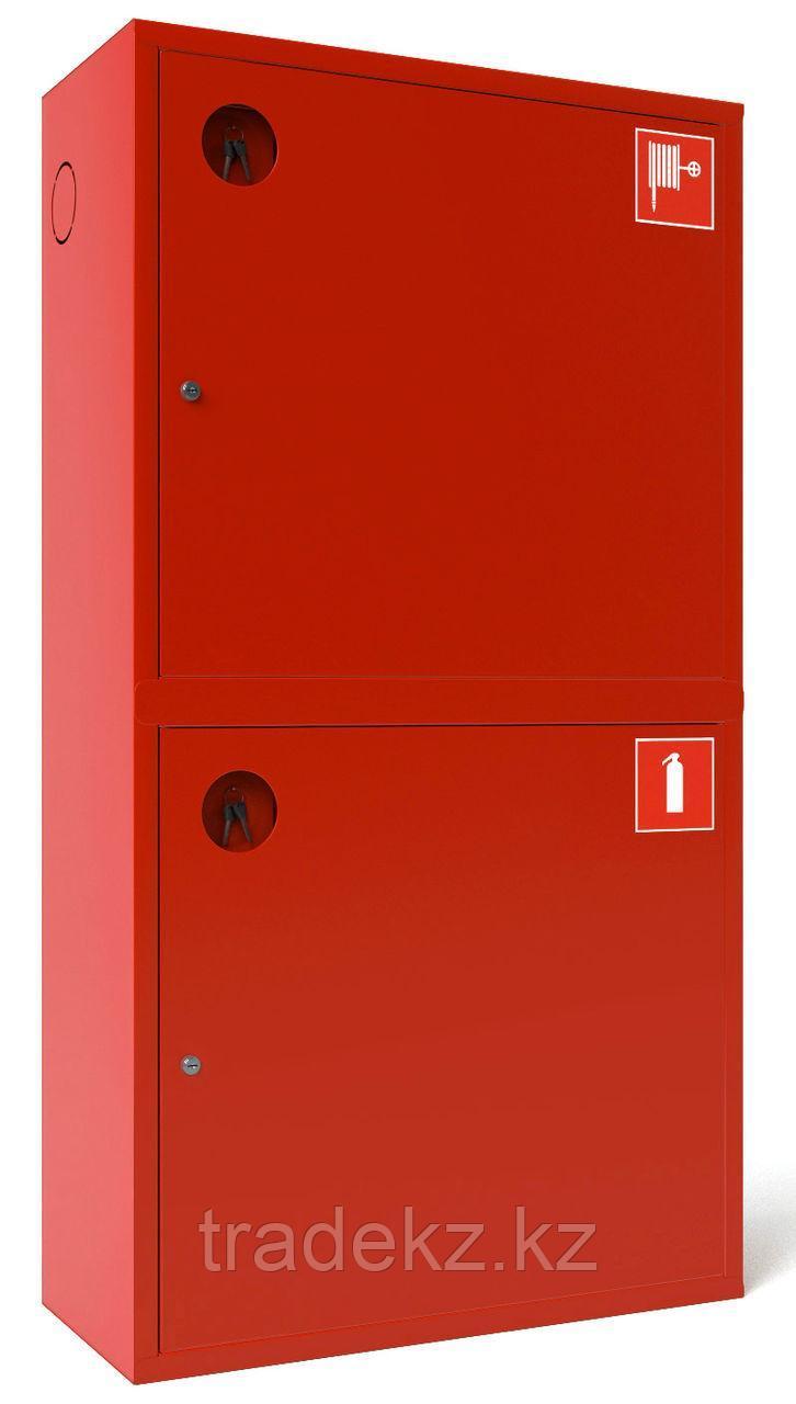 ШПК-03 НЗК шкаф для пожарного крана закрытый, красный