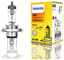 Галогеновая лампа PHILLIPS H4 12V 12342PR C1 60/55W 1шт.