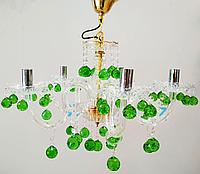 Зеленая люстра, фото 1