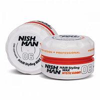 Nishman Mystic Gummy «Персик» 06 (Воск для укладки волос) 150 мл.