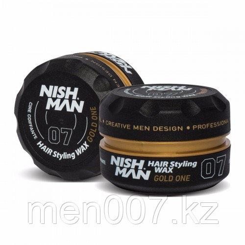 "Nishman Gold One «парфюм ""One Million""» 07 (Воск для укладки волос) 150 мл."
