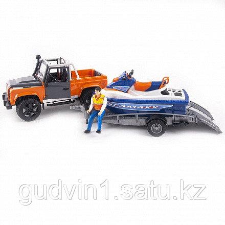 Bruder: Внедорожник Ram с водным мотоциклом 02-599
