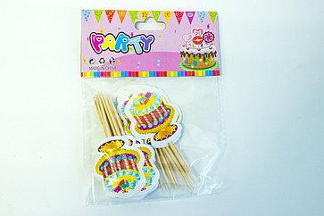 "Шпажки для канапе ""Торт"" Party"
