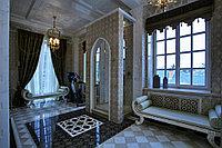 Пошив штор для окна в ванной