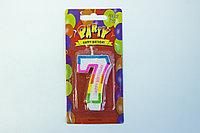 Свечи для торта цифра 7