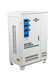 Стабилизатор электромеханический трехфазный Mateus SVC-60KVA/380