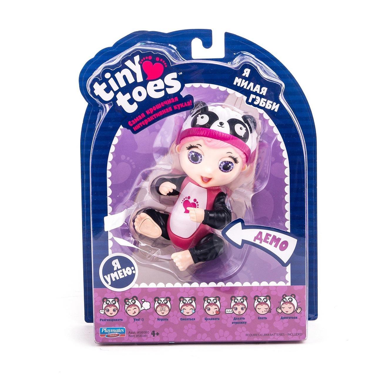 Интерактивная игрушка Tiny Toes, Пандочка
