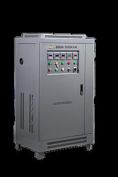 Стабилизатор электромеханический трехфазный Mateus SWB-100KVA/380