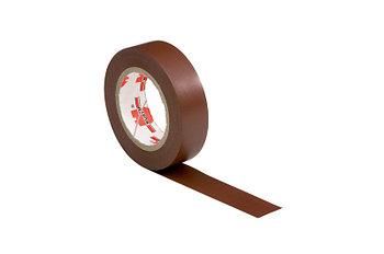 Изолента 15мм*10м*0,1мм коричневая WURTH