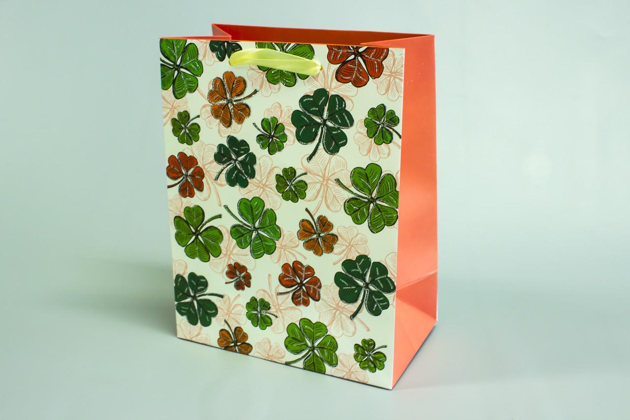 Бумажные пакеты с ручкой 18см*23см*10см