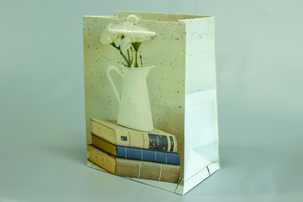 Бумажные пакеты с ручкой 32см*26см*12см
