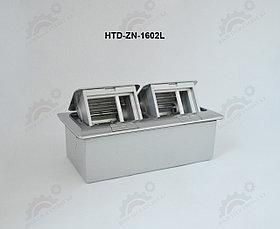 FEILIFU HTD-ZN-1602L Напольный лючок на 6 модулей, металл, цвет серебро
