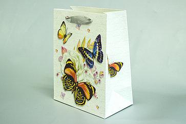 Бумажный пакет с ручками 18см*23см*10см