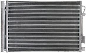 Радиатор охлаждения Hyundai Accent (Solaris) (АКПП)