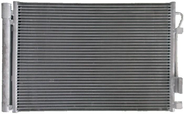 Радиатор охлаждения Hyundai Accent (Solaris) (МКПП)
