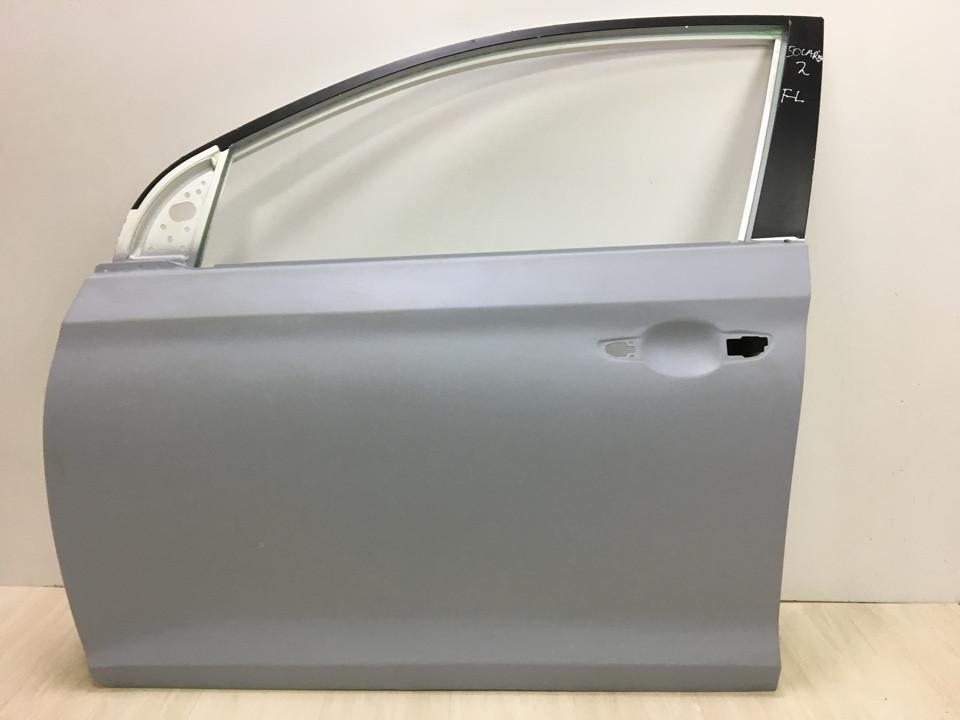 Дверь передняя левая Hyundai Accent (Solaris)