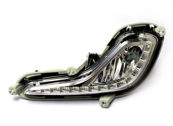 Фара противотуманная (ПТФ) Hyundai Accent (Solaris)
