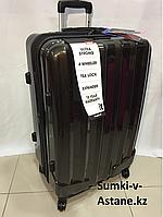 Большой пластиковый дорожный чемодан на 4-х колесах IT Luggage.Высота 77 см, длина 48 см, ширина 30 см., фото 1