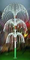 Светодиодные фонтаны, фейерверки
