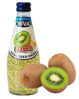 Напиток Riva Семена базилика с ароматом  Киви 290 мл (24шт-упак)