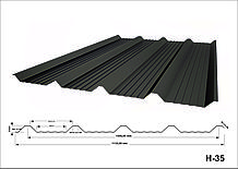 Профнастил оцинкованный Н35 0,45мм