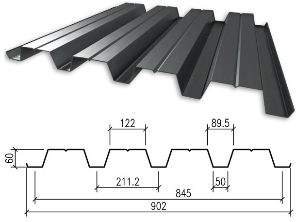 Профнастил Н60 0,55мм