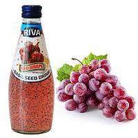 Напиток Семена базилика с ароматом Красного Винограда RIVA 290 мл