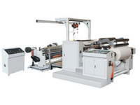 Машина для резки и намотки оберточной бумаги DBL-1200