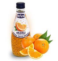 Напиток Семена базилика с ароматом  Апельсина RIVA 290 мл