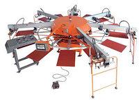 Автоматическая ротационная машина трафаретной печати WPKY