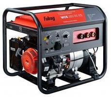 Бензиновые сварочные генераторы WCE с двигателем FUBAG