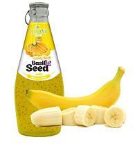 Нектар Aziano Банан с семенами базилика 290 мл (24шт-упак)