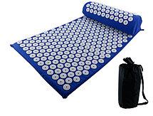 Массажный коврик для ног, спины, головы и шеи. Апликатор Кузнецова. Акупунктурный коврик, фото 3