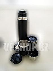 Термос + 2 термокружки в комплекте туристический, доставка