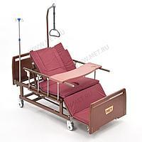 Медицинская кровать для ухода за лежачими больными с переворотом, туалетом и матрасом МЕТ REMEKS., фото 1