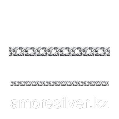 Цепь Адамант серебро с родием, без вставок Ср925Р-106303050
