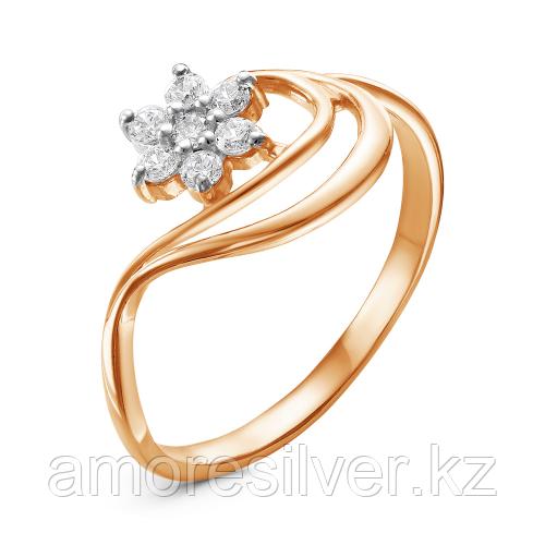 Серебряное кольцо с фианитом   Красная Пресня 23810659Д