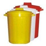 Бак БМ-01 35л для сбора, хранения мед.отходов (желтый)