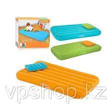 Детский надувной матрас Intex 66801 + надувная подушка (88*157*18см)