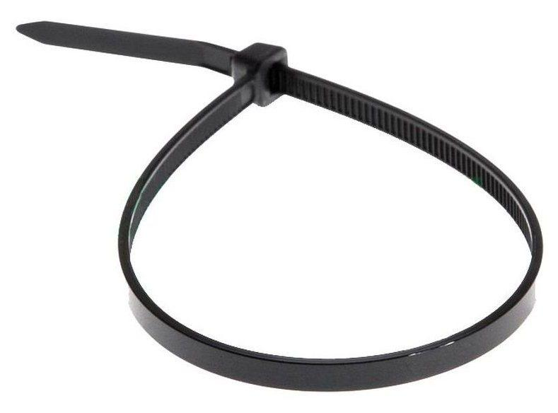 Хомут д/связки кабеля 7,8*360 черный WURTH