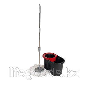 Набор для уборки - ведро 16 л с отжимом + швабра, Proff 2601112, фото 2