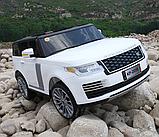 Детский электромобиль Range Rover. Двухместный., фото 2