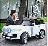 Детский электромобиль Range Rover. Двухместный., фото 4