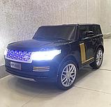 Детский электромобиль Range Rover. Двухместный., фото 5