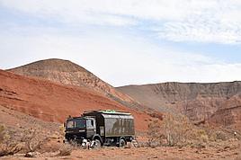 Красные горы Богуты - тур в автодоме