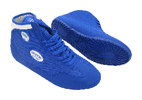 Борцовки (ОПТОМ) синего цвета от Green Hill GWB-52 (размеры в коробке 36-39), фото 2