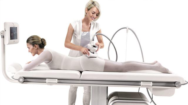 массаж с использованием современных аппаратов