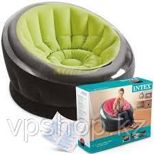 Надувное кресло INTEX 68581 112Х109Х69 ( Зеленый)