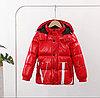 Пуховик демисезонный Valentino & Moncler от 2 до 7 лет для мальчиков, красный.