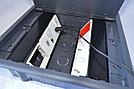 FEILIFU HTD-624AS Напольный лючок на 6 модулей, пластик, цвет серый, фото 7